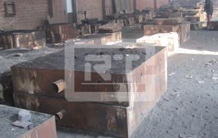 渣浆泵砂型铸造砂箱