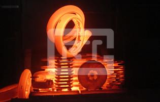 渣浆泵热处理出炉