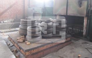 渣浆泵热处理装炉