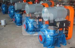 渣浆泵性能参数介绍
