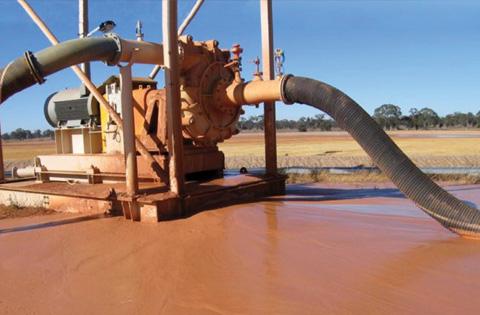 渣浆泵在实际中的应用