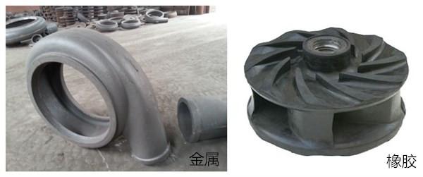 离心式渣浆泵材料的选择