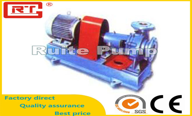 IS、IH、ISR化工泵、热水泵型号参数